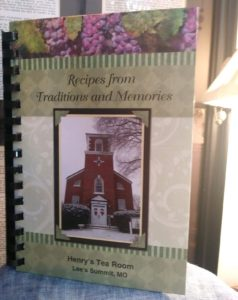 Recipes from Traditions and Memories may be purchased at Henry's Antiques and Collectibles in Lee's Summit